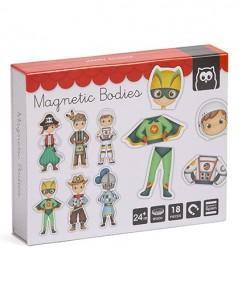 Magnetische helden - heroes world magnets - magneten - helden - heroes - speelgoed - houten speelgoed - boxen - hape - dn houten tol - de mouthoeve - boekel - cadeau
