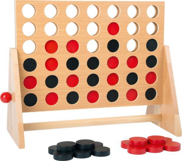vier op een rij - hout - game - spel - houten spel - denk spel - leer spel - speelgoed - houten speelgoed - dn houten tol - de mouthoeve - boekel - shop - winkel - leerzaam