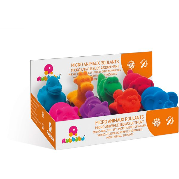 kraamcadeau - rubbabu - voertuig - baby speelgoed - rubber speelgoed - 100% natuurlijk - speelgoed - houten speelgoed - dn houten tol - de mouthoeve - boekel - shop stil speelgoed - vliegtuig - dieren - dino - groen - knuffeldieren