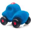 rubbabu - voertuig - baby speelgoed - rubber speelgoed - 100% natuurlijk - speelgoed - houten speelgoed - dn houten tol - de mouthoeve - boekel - shop stil speelgoed - politieauto - blauw