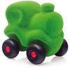 rubbabu - voertuig - baby speelgoed - rubber speelgoed - 100% natuurlijk - speelgoed - houten speelgoed - dn houten tol - de mouthoeve - boekel - shop stil speelgoed - trein - groen