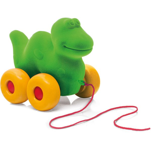kraamcadeau - rubbabu - voertuig - baby speelgoed - rubber speelgoed - 100% natuurlijk - speelgoed - houten speelgoed - dn houten tol - de mouthoeve - boekel - shop stil speelgoed - vliegtuig - dieren - knuffeldieren - olifant - blauwe olifant - trekfiguur dino - dino - groene dino