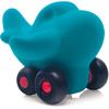 rubbabu - voertuig - baby speelgoed - rubber speelgoed - 100% natuurlijk - speelgoed - houten speelgoed - dn houten tol - de mouthoeve - boekel - shop stil speelgoed - vliegtuig - blauw - turquoise