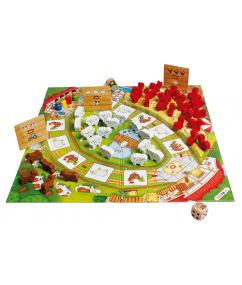 Bord spellen - spellen - kinder spellen - zippy zebra - hape - spelletjes - games - speelgoed - houten speelgoed - dn houten tol - de mouthoeve - boekel - Happy Farm