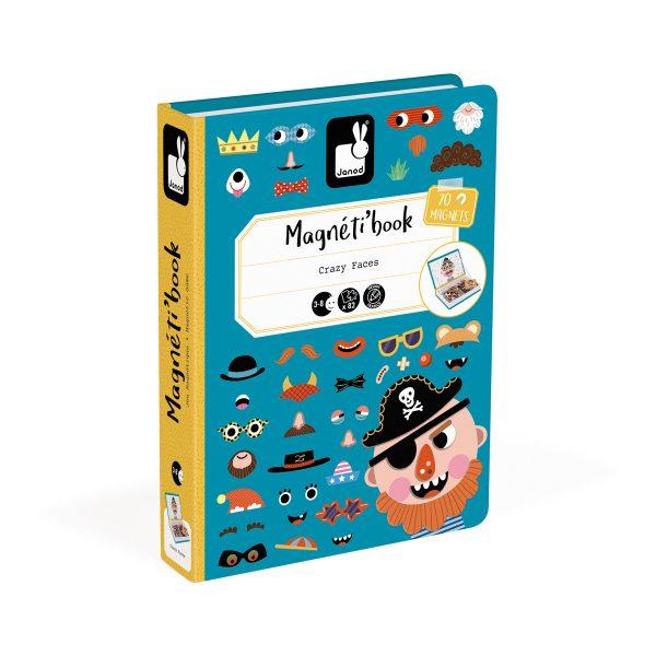 magneetboek - magnetibook -prinsessen - janod - webshop - magneten - educatief speelgoed - speelgoed - houten speelgoed - dn houten tol - de mouthoeve - boekel - verkleedfeest - meisjes - prinsessen - verjaardags cadeau kind - gekke gezichten magneten - gekke gezichten jongens