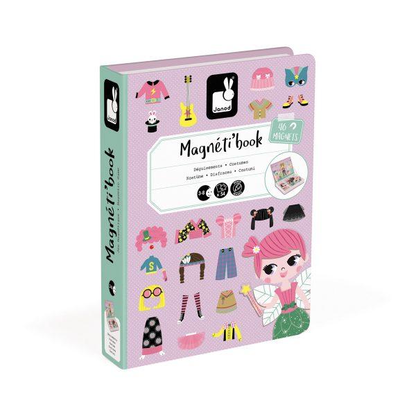 magneetboek - magnetibook - verkleedfeest - janod - webshop - magneten - educatief speelgoed - speelgoed - houten speelgoed - dn houten tol - de mouthoeve - boekel - verkleedfeest - meisjes - elfje -