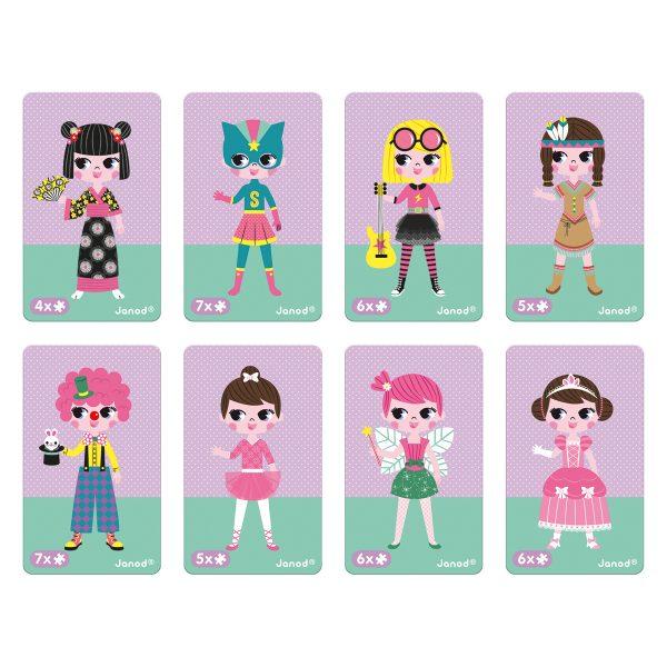 magneetboek - magnetibook - verkleedfeest - janod - webshop - magneten - educatief speelgoed - speelgoed - houten speelgoed - dn houten tol - de mouthoeve - boekel - verkleedfeest - meisjes - elfje