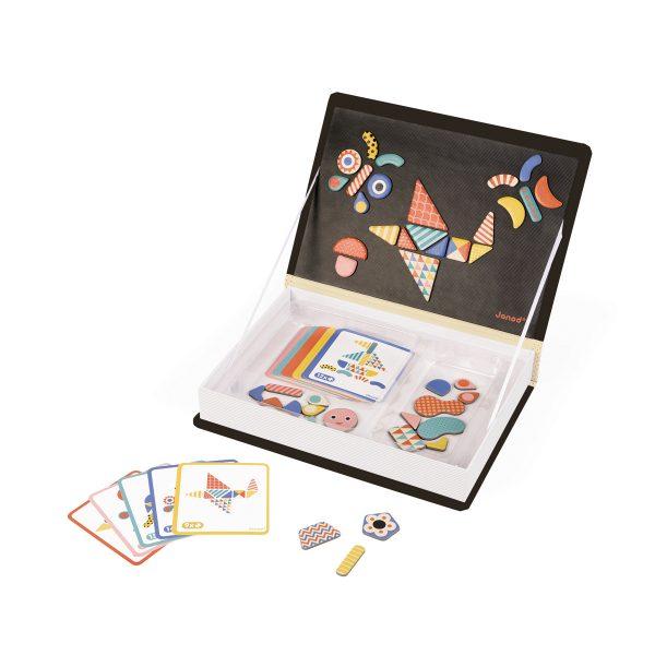magneetboek - magnetibook - janod - webshop - magneten - educatief speelgoed - speelgoed - houten speelgoed - dn houten tol - de mouthoeve - boekel - jongens - meisjes - verjaardags cadeau kind - magneten - magneten modulofom - vormen