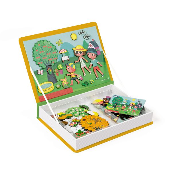 magneetboek - magnetibook -prinsessen - janod - webshop - magneten - educatief speelgoed - speelgoed - houten speelgoed - dn houten tol - de mouthoeve - boekel - lente - herfst - zomer - winter - jongens - meisjes - verjaardags cadeau kind - vier seizoenen - magneten - magneten vier seizoenen