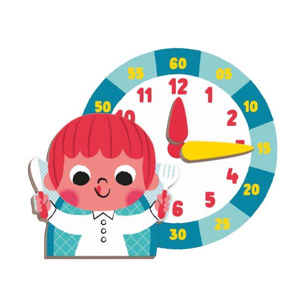 magneetboek - magnetibook - janod - webshop - magneten - educatief speelgoed - speelgoed - houten speelgoed - dn houten tol - de mouthoeve - boekel - jongens - meisjes - verjaardags cadeau kind - magneten - magneten klok kijken - leren klok kijken