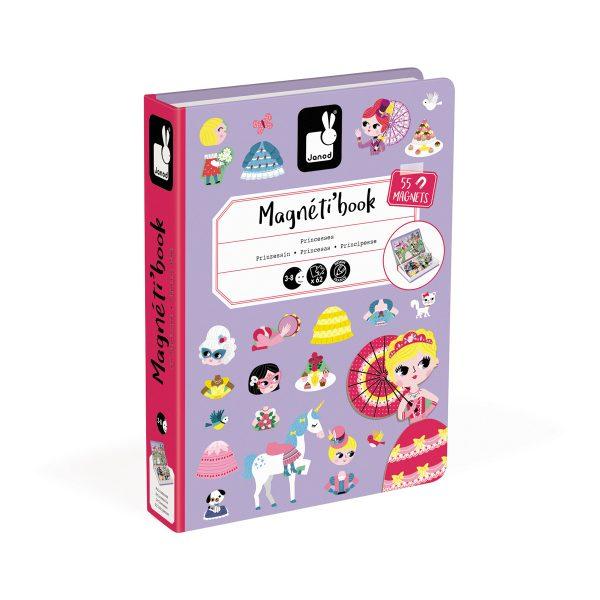 magneetboek - magnetibook -prinsessen - janod - webshop - magneten - educatief speelgoed - speelgoed - houten speelgoed - dn houten tol - de mouthoeve - boekel - verkleedfeest - meisjes - prinsessen - verjaardags cadeau kind