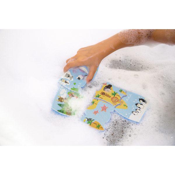 badspeelgoed - speelgoed voor in bad - wereldkaart voor in bad - bad - schuimpuzzel - puzzel voor in bad - badpuzzel - speelgoed - houten speelgoed - educatief speelgoed - dn houten tol - janod - de mouthoeve - boekel - speelgoedwinkel boekel