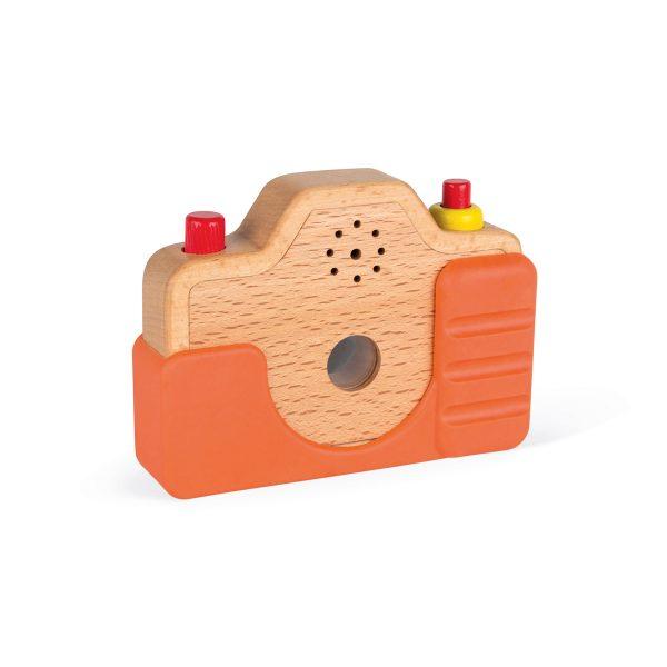 fotocamera - kinder camera - kinder foto camera - speelgoed camera - speelgoed - educatief speelgoed - houten speelgoed - dn houten tol - de mouthoeve - boekel - shop - webshop - janod