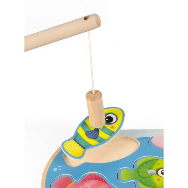 spel - kinder spel - vissen spel - hengel spel - vissen puzzel - puzzel - speelgoed - educatief speelgoed - houten speelgoed - dn houten tol - de mouthoeve - boekel - spellen - janod