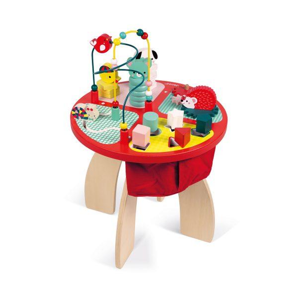 Baby Forest serie - Janod Baby Forest - Speeltafel - janod - kinder tafel - houten kinder tafel - houten speeltafel - speelgoed - educatief speelgoed - houten speelgoed - dn houten tol - de mouthoeve - boekel - shop - speelgoedwinkel boekel