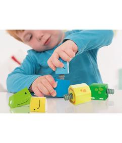 Turning Animals - Houten draaivormen dieren - speelgoed - houten speelgoed - educatief speelgoed - baby - beleduc - dn houten tol - de mouthoeve - speelgoedwinkel boekel - animals - turning
