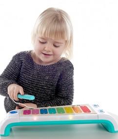 xylofoon - Magic Touch Xylophone - magische xylofoon - speelgoed - hape - 11883 - houten speelgoed - educatief speelgoed - dn houten tol - de mouthoeve - speelgoedwinkel boekel - muziek