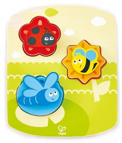 insecten puzzel - Dynamic Insect Puzzle - puzzel - houten puzzel - hape - kinder puzzel - dn houten tol - de mouthoeve - speelgoedwinkel boekel