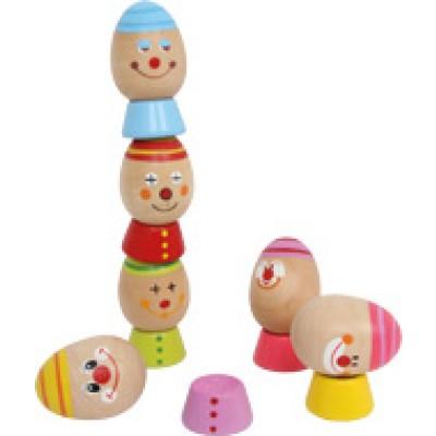 stapelei - houten speelgoed - eieren - spelletje - behendigheidsspel - speelgoed - dn houten tol - de mouthoeve - boekel - winkel - webshop - small foot