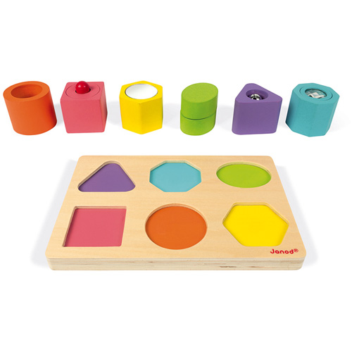 vormen - geluid - puzzel - houten speelgoed - speelgoed - dn houten tol - de mouthoeve - boekel - webshop - speelgoedwinkel - boekel - 115332 - janod