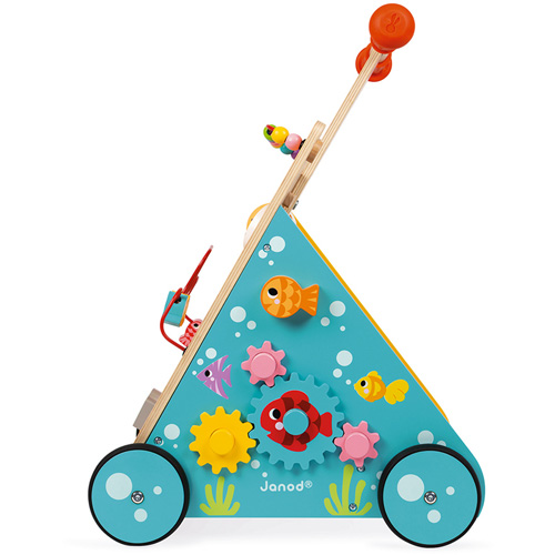 activatie center - walker - duw kar - loop kar - speelgoed - houten speelgoed - janod - 118005 - dn houten tol - baby - babyshower - gender party - jongens - meisjes - de mouthoeve - boekel - speelgoedwinkel - webshop - kraamcadeau - verjaardagscadeau