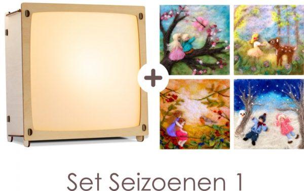 wissellamp - toverlamp - 4 seizoenenlamp - set 1 - nachtlampje - webshop - speelgoed- verjaardagscadeau - baby - kraamcadeau - peuter - kleuter - babyshower - gender party - dn houten tol - speelgoedwinkel - boekel - de mouthoeve - het houtlokael