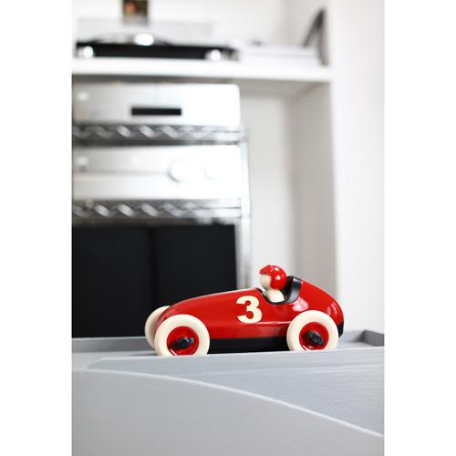 Bruno racing car Red - playforever - race auto - voertuigen - auto's - kunststof - 07102 - speelgoed - houten speelgoed - cadeau - vanaf 3 jaar - kraamcadeau - gender party - baby shower - peuter - kleuter - tm 99 jaar - educatief - leerzaam - duurzaam - dn houten tol - jongens - meisjes - de mouthoeve - boekel - webshop - speelgoedwinkel