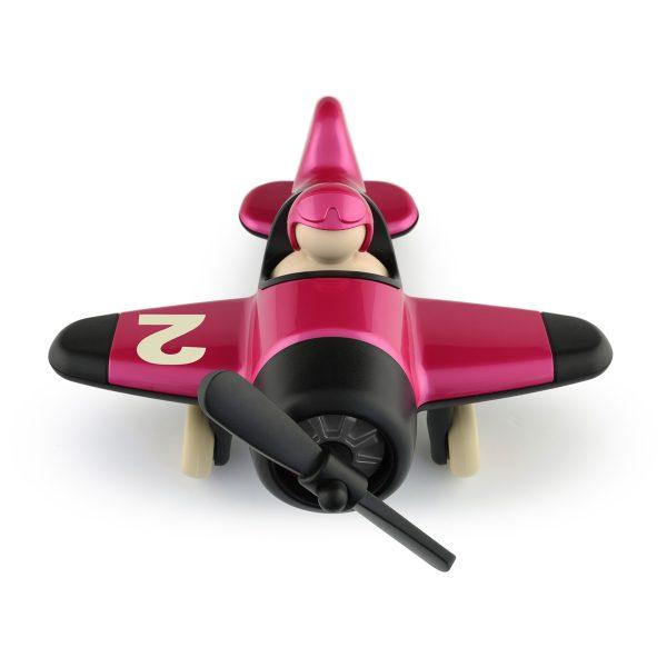 vliegtuig - kunststof - 07209 - playforever - nostalgie - betty plane - speelgoed - houten speelgoed - educatief - leerzaam - voertuigen - babyshower - gender party - kraamcadeau - verjaardag - 3 jaar - peuter - kleuter - dreumes - tot 99 jaar - papa - d'n houten tol - de mouthoeve - boekel - speelgoedwinkel - webshop - vintage speelgoed