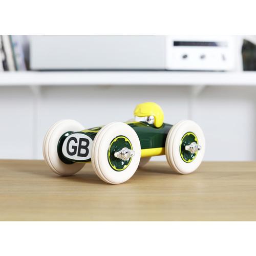 dn houten tol - voertuigen - playforever - Bonnie gb - auto - kunststof - race auto - speelgoed - houten speelgoed - vanaf 3 jaar - jong en oud - educatief - leerzaam - duurzaam - kraamcadeau - babyshower - jongen - meisje - gender party - peuter - kleuter - webshop - speelgoedwinkel - boekel- de mouthoeve