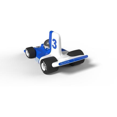 Verve Velocita Lorenzo - vanaf 3 jaar - race auto - klassiek - ABS plasticmodel auto - playforever - janod - auto - 07VF304 - decoratie auto - speelgoed - houten speelgoed - kinderspeelgoed - kraamcadeau - gender party - babyshower - dn houten tol - webshop - speelgoedwinkel - boekel - mannen auto - verjaardags cadeau voor kinderen en mannen