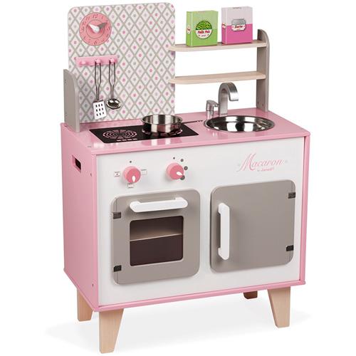 keukentje - houten keukentje - janod - kinder keukentje - peuter - kleuter - houten speelgoed - educatief - duurzaam - leerzaam - dn houten tol - de mouthoeve - boekel - speelgoedwinkel - webshop - 116567 - kraamcadeau - gender party - babyshower