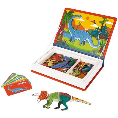 magneetboek - magnetibook - janod - magneten - dino - dinosaurus - jongens - meisjes - speelgoed - houten speelgoed - kraamcadeau - babyshower - gender party - 3de verjaardag - 4de verjaardag - verjaardag - 5 jaar - 6 jaar - 7 jaar - 8 jaar - dn houten tol - 112590 - de mouthoeve - boekel - speelgoedwinkel - webshop