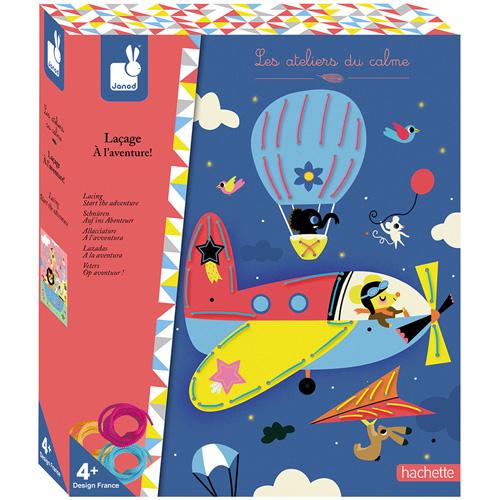 janod atelier - 117813 - borduren - Start het avontuur - knutselen - creatief - knippen - vanaf 4 jaar - verjaardagscadeau - de mouthoeve - boekel - d'n houten tol - speelgoedwinkel - webshop - speelgoed - houten speelgoed