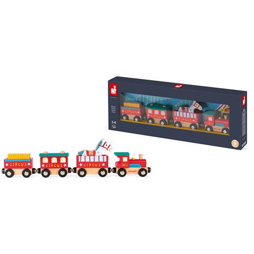 paard - dieren - feestdagen - 3de verjaardag - 4de verjaardag - jongen - meisje - gender neutraal - sinterklaas -circus trein - houten trein - peuter - kleuter - speelgoed - hout - janod - koe - wagonnetjes - kraamcadeau - gender party - baby shower - baby - 118588 - dn houten tol - de mouthoeve - boekel - speelgoedwinkel - webshop - kinderen trein