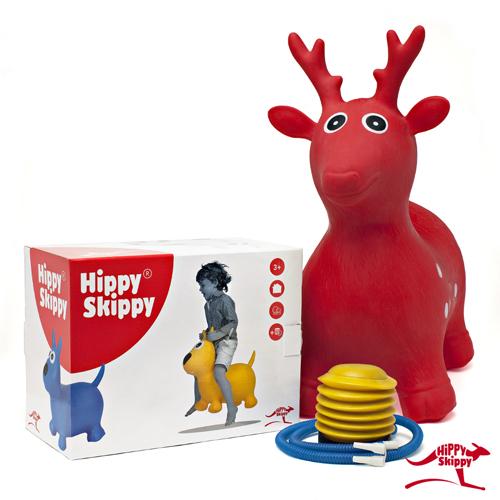 Hert groen - Hippy skippy - spring bal - skippy bal - speelgoed - houten speelgoed - kinderen - koe - dieren - vanaf 3 jaar - verjaardagscadeau - kraamcadeau - kado - gender party - babyshower - peuter - kleuter - school kind - 4de verjaardag - 5de verjaardag - dn houten tol - de mouthoeve - boekel - webshop - speelgoedwinkel - buitenspeelgoed - 120044