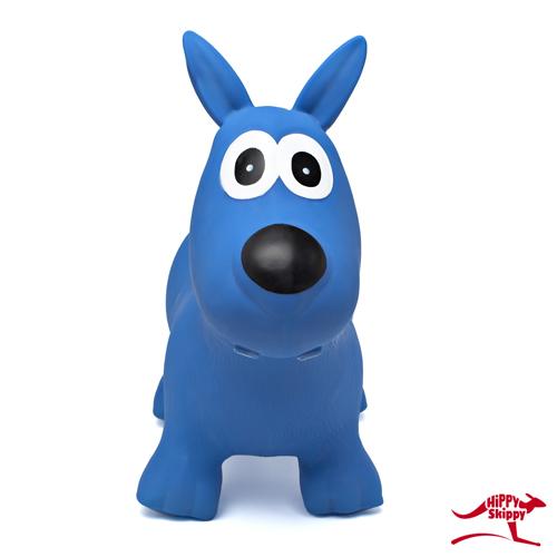 hond blauw - Hippy skippy - spring bal - skippy bal - speelgoed - houten speelgoed - kinderen - koe - dieren - vanaf 3 jaar - verjaardagscadeau - kraamcadeau - kado - gender party - babyshower - peuter - kleuter - school kind - 4de verjaardag - 5de verjaardag - dn houten tol - de mouthoeve - boekel - webshop - speelgoedwinkel - buitenspeelgoed - 120061