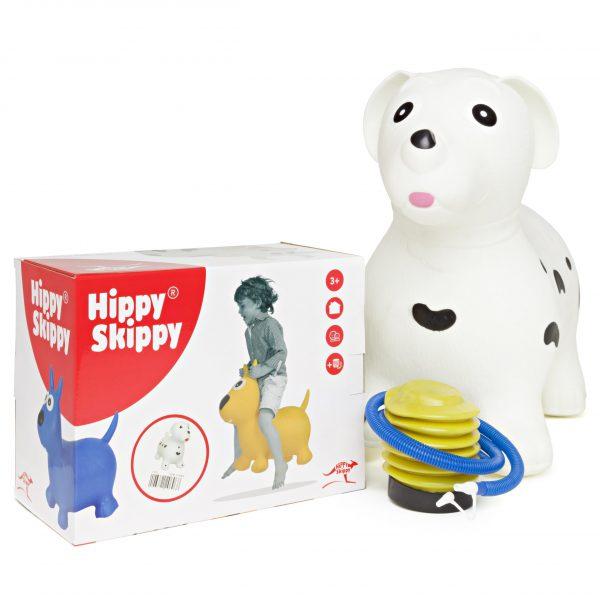 dalmatiër - Hippy skippy - hond - spring bal - skippy bal - speelgoed - houten speelgoed - kinderen - koe - dieren - vanaf 3 jaar - verjaardagscadeau - kraamcadeau - kado - gender party - babyshower - peuter - kleuter - school kind - 4de verjaardag - 5de verjaardag - dn houten tol - de mouthoeve - boekel - webshop - speelgoedwinkel - buitenspeelgoed - 120063