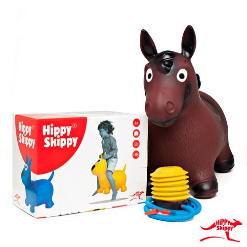 bruin paard - Hippy skippy - spring bal - skippy bal - speelgoed - houten speelgoed - kinderen - koe - dieren - vanaf 3 jaar - verjaardagscadeau - kraamcadeau - kado - gender party - babyshower - peuter - kleuter - school kind - 4de verjaardag - 5de verjaardag - dn houten tol - de mouthoeve - boekel - webshop - speelgoedwinkel - buitenspeelgoed - 120081